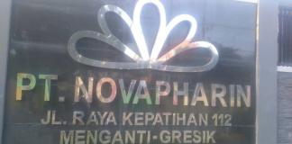 Gambar Pabrik PT.Novapharin