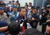 Wakasatreskoba polrestabes Surabaya Kompol Anton Saat berikan keterangan pada Awak Media.