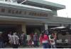 Tampak Aktifitas Pengunjung Di Rumah Tahanan Klas 1 Surabaya