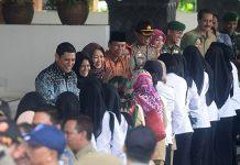 Walikota Kediri adakan halal bi halal