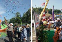 Festival Perahu Hias Bengawan Solo Bekerja Sama Dengan Polsek Rengel