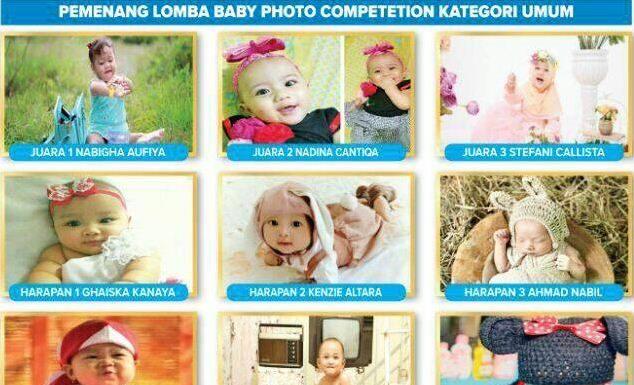 RSIA Amanah tetapkan pemenang baby photo competition