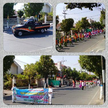 kegiatan karnaval jalan dalam peringatan 1 Muharam 1439 H.