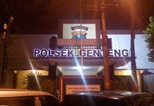 Kantor Polsek Genteng Jalan Ambengan no 39 Surabaya
