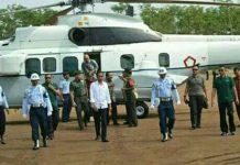 Komandan Kodim 0820 Probolinggo sambut Presiden RI