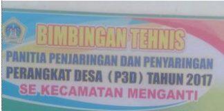 Tursilowanto kadis PMD & Sujiarto Camat Menganti